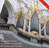 Thomas Lennartz an der Silbermannorgel der Kathedrale Dresden