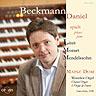 Daniel Beckmann spielt Liszt, Mozart, Mendelssohn - Mainz, Dom