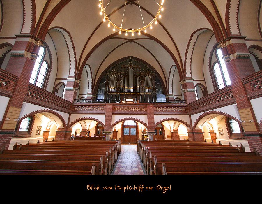 Orgelportal Auenkirche Berlin Wilmersdorf
