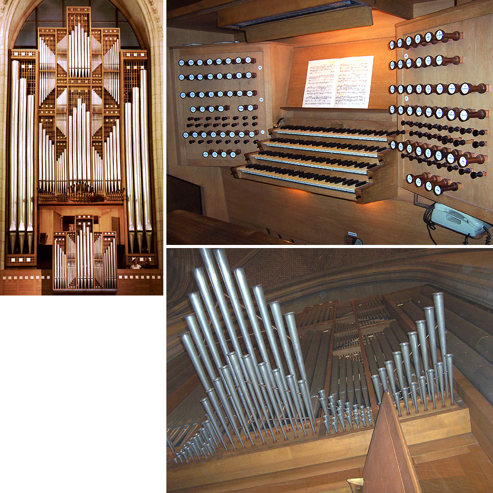 Linz: Organ Database With Stoplists, Specifications, Photos And